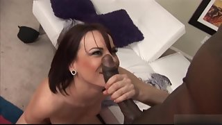 Round Ass Whore Pounded by Her Dude with Loudly Moans