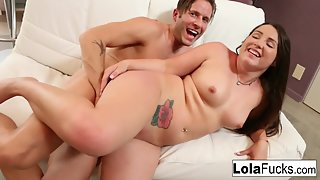 Small Boobs Babe Lola Foxx Gets Rammed by Her Dude