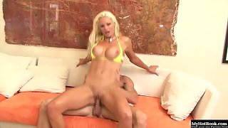Blonde Babe Rhylee Richards deeply pounded by hard cock